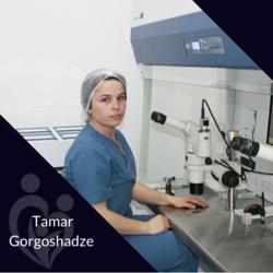 Tamar Gorgoshadze, Biologist