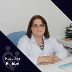 Rusudan Beridze, Anesthesist