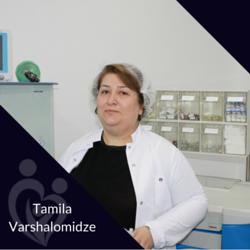 Tamila Varshalomidze, Anesthesist