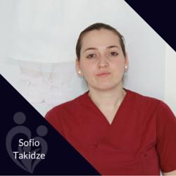 Sofio Takidze, Cleaning